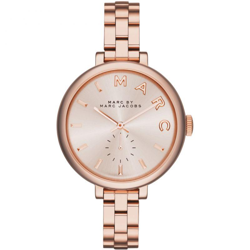Ladies / Womens Sally Rose Gold Stainless Steel Marc Jacobs Designer Watch MBM3364