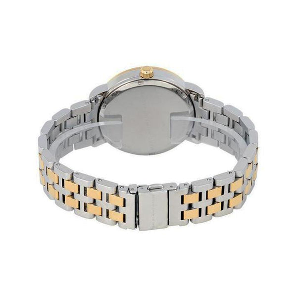 Ladies / Womens Fergus Silver Two-Tone Stainless Steel Marc Jacobs Designer Watch MBM3426