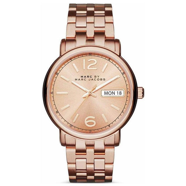Ladies / Womens Fergus Rose Gold Stainless Steel Marc Jacobs Designer Watch MBM3439