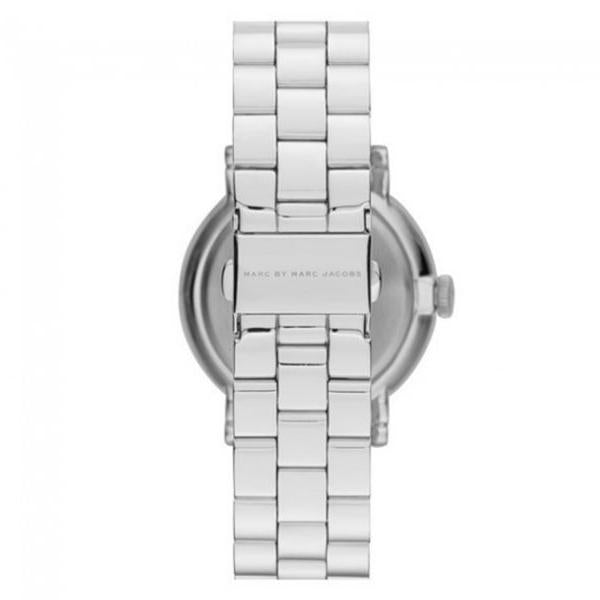 Ladies / Womens Baker Silver Tone Stainless Steel Marc Jacobs Designer Watch MBM8630