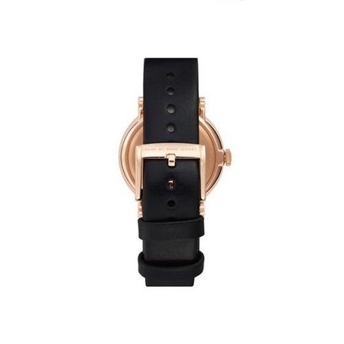 Ladies / Womens Baker Black Leather Marc Jacobs Designer Watch MBM8633