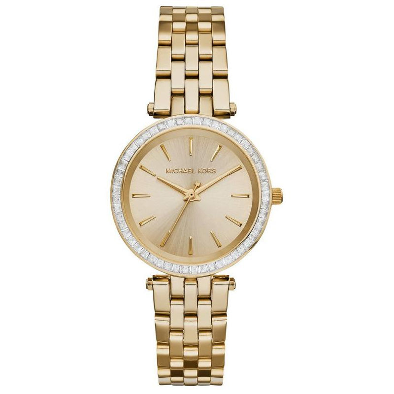 Ladies / Womens Darci Gold Tone Stainless Steel Michael Kors Designer Watch MK3365