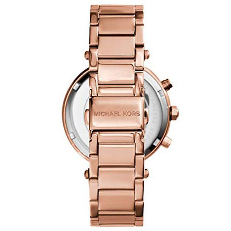 Ladies Parker Rose Gold Chronograph Michael Kors MK5491