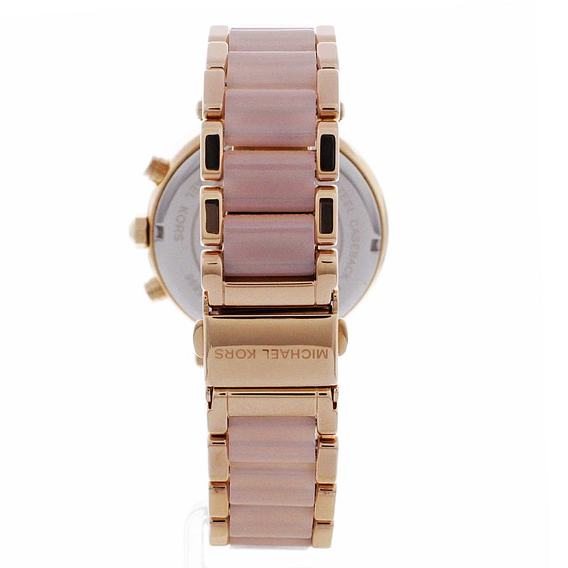 Ladies Parker Rose Gold Chronograph Michael Kors Watch MK5896