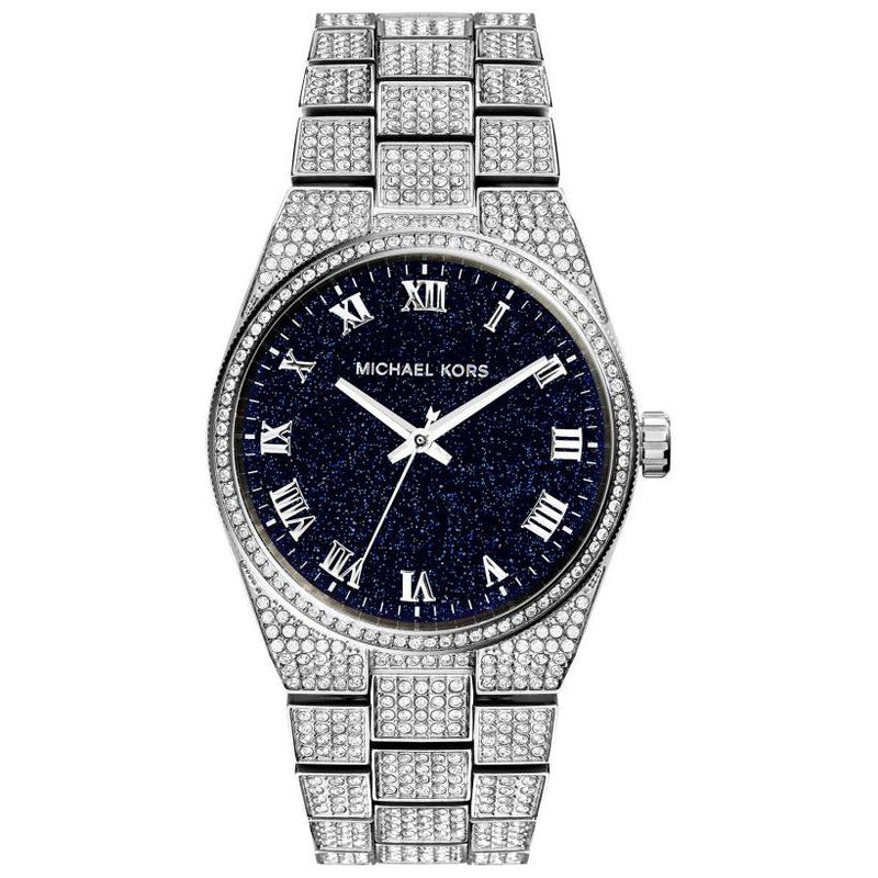 Ladies / Womens Channing Silver Diamond Stainless Steel Michael Kors Designer Watch MK6089