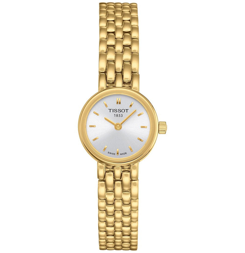 Ladies / Womens Designer Gold T-Lady Lovely Tissot Bracelet Designer Watch T058.009.33.031.00