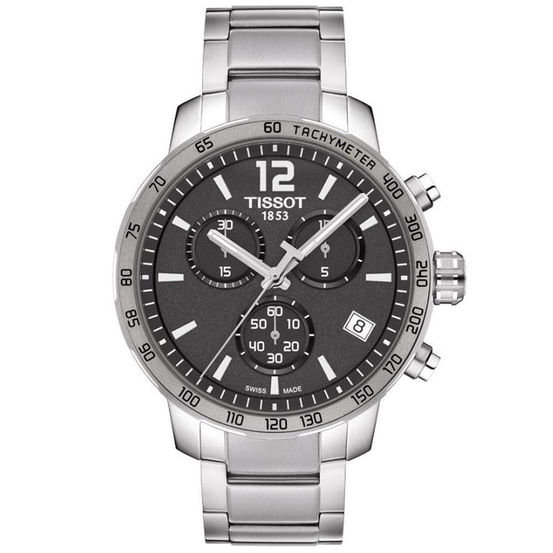 Mens / Gents Quickster Stainless Steel Chronograph Tissot Designer Watch T095.417.11.067.00