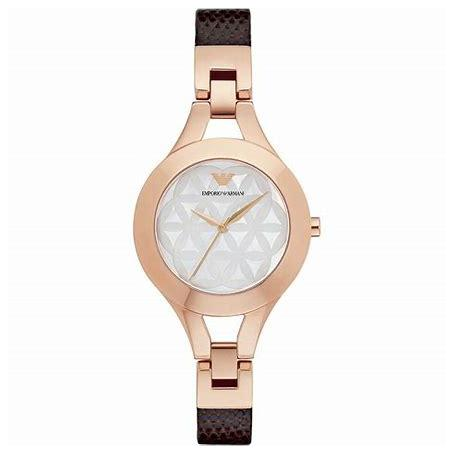 Ladies Rose Gold Mother of Pearl Emporio Armani Watch AR7431