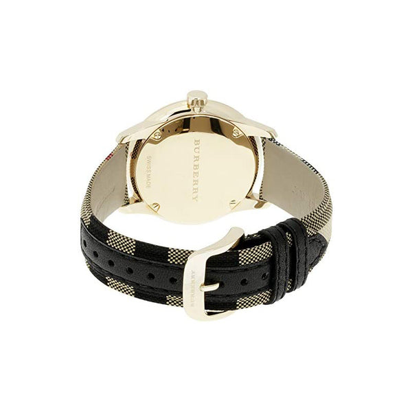 Mens / Gents Classic Horseferry Check Fabric Strap Burberry Designer Watch BU10001