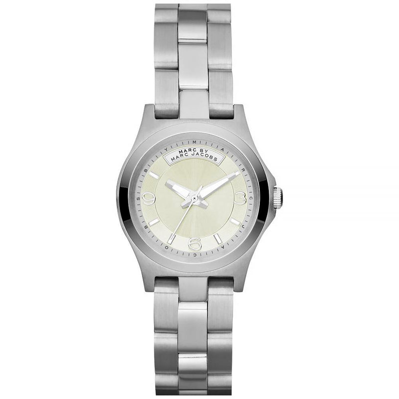 Ladies / Womens Baby Dave Silver Stainless Steel Marc Jacobs Designer Watch MBM3234