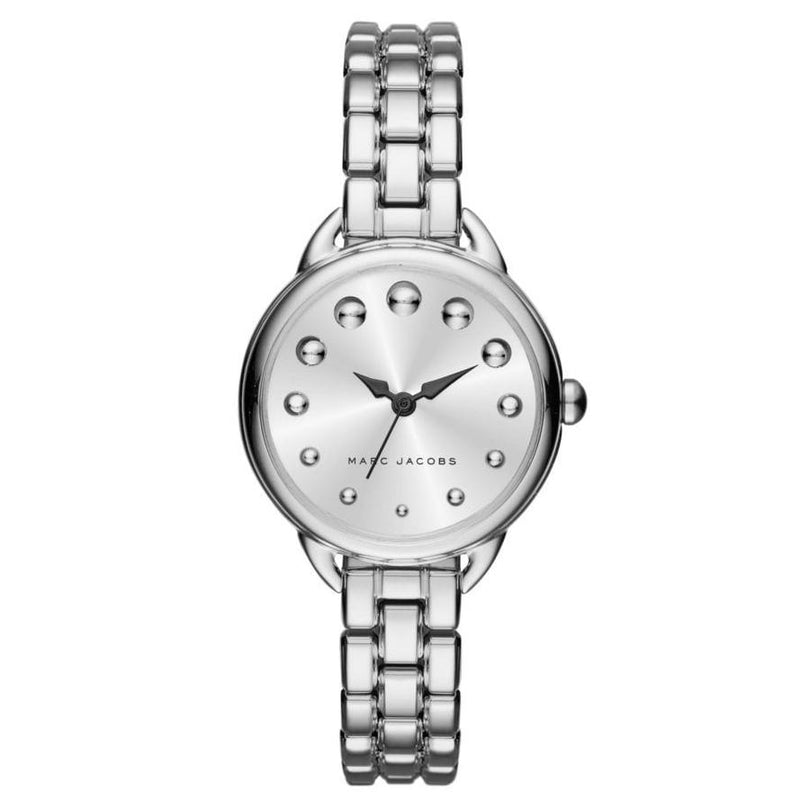 Ladies / Womens Betty Silver Stainless Steel Marc Jacobs Designer Watch MJ3497
