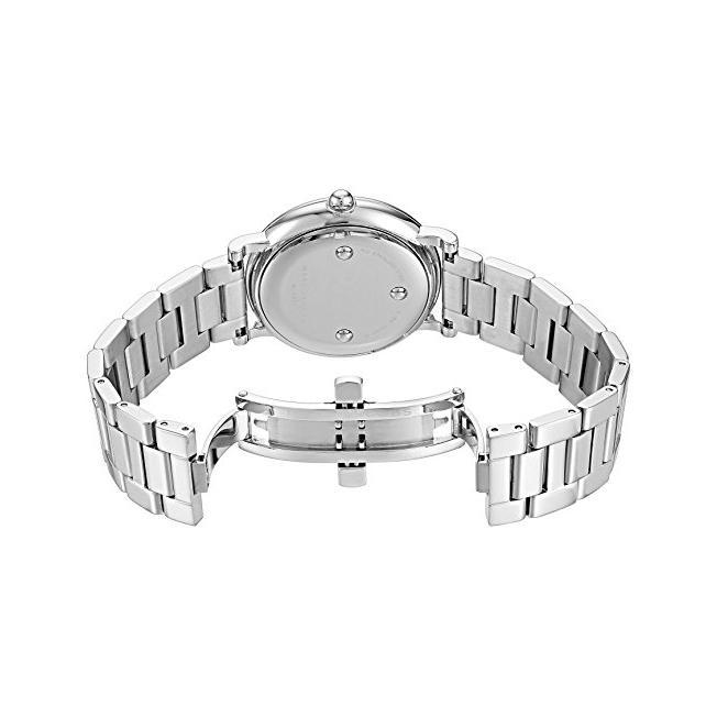 Ladies / Womens Roxy Silver Dial Stainless Steel Marc Jacobs Designer Watch MJ3521