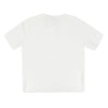 Petit clair top brick knit s/s - white