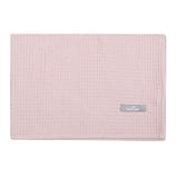 Petite laure blanket waffle organic cotton - dusty pink
