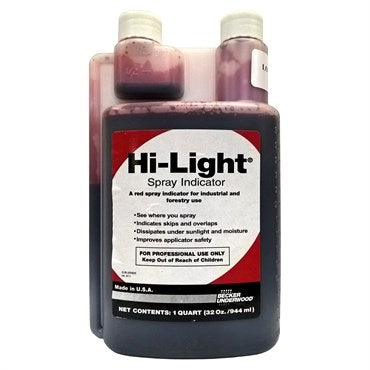 BASF - Hi-Lite Red Spray Indicator Dye - 1 qt