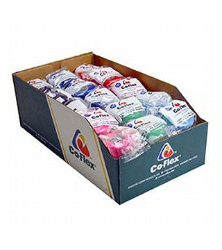 "CoFlex - Wrap 4""x5 yds. - Rainbow Pack - SOLD AS CASE"