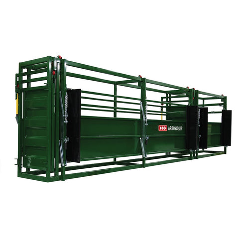 Arrowquip - 26' adjustable alley with two rolling doors