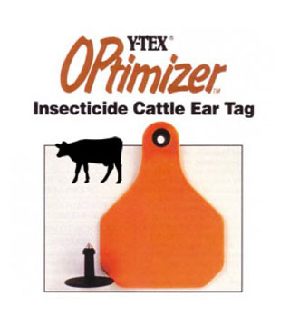 Y-Tex - Optimizer Orange Insect Tag - 20 ct