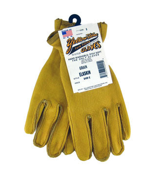 Yellowstone - Grain Elkskin Gloves - Size 7.5
