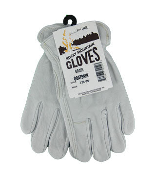 Yellowstone - Goatskin Grain Gloves - Size Large