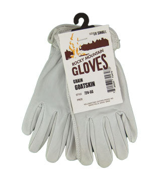 Yellowstone - Goatskin Grain Gloves - Size X Small