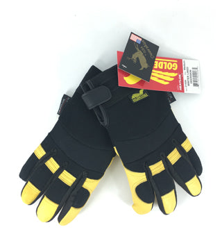 Yellowstone - Deerskin Insulated Heatlok Gloves - Size Large