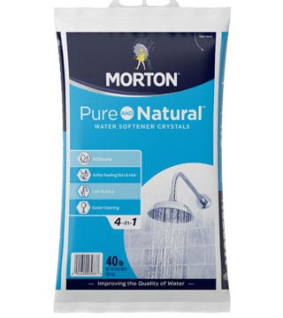 Morton - Pure And Natural Water Softener Crystals - 50 lb - (49/pallet)
