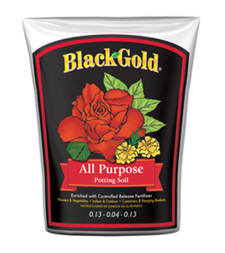 Black Gold - All Purpose Soil - 1 cu. ft.