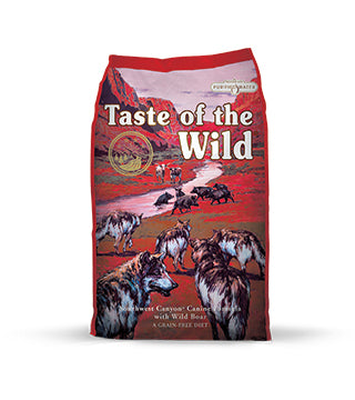 Taste of the Wild - Southwest Canyon Wild Boar Dog Food - 28 lb
