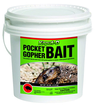 Kaput - Pocket Gopher Bait - 30 lb