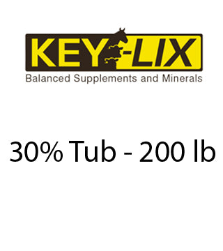 Key Lix - 30% Tub - 200 lb