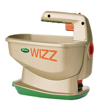 Scott's - Wizz Hand Held Spreader - Battery operated