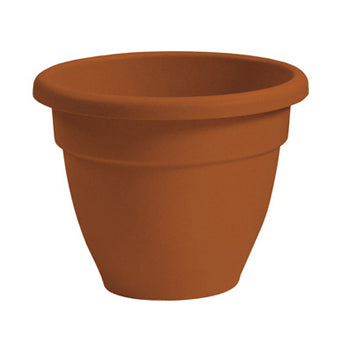 "HC Companies - CNA16000R01 - 16"" Clay Eco-Resin Caribbean Pot - 12/Case"