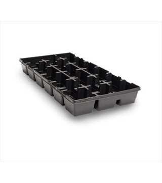 "HC Companies- TKP18350 - 3.5"" Square 18 Count Tray - 50/Case"