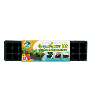 Planters Pride - RZG04090 - 36 Cell Greenhouse Starter Kit