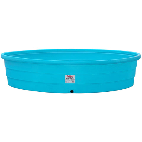 Behlen - Stock Tank - Round - 9' - Poly - Blue 1000 Gal