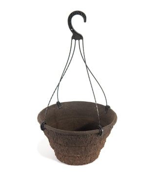 "Western Pulp - 12"" Square Hanging Basket 2.8 Gallon - 22/Case (#105912)"