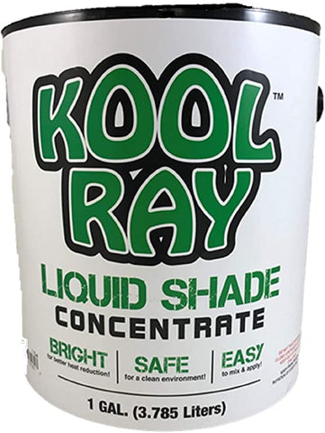 Continental Products - Kool Ray White Classic Shade - 1 Gallon