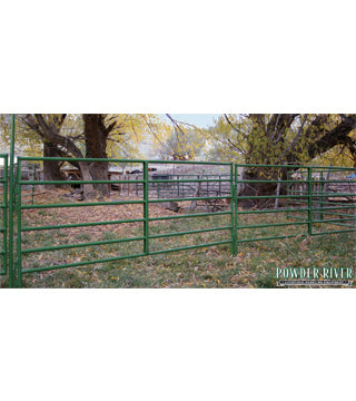 Powder River - Panel - 1600 Tube - 12' - Green