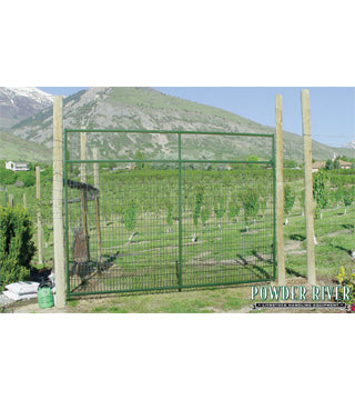 Powder River - Deer Gate - 12' x 8' Left Hand