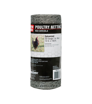 "Grip-Rite - Poultry Netting - 1"" Sq - 48"" x 150'"
