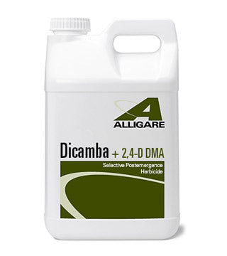 Alligare - Dicamba +2,4- D - 2.5 gal.