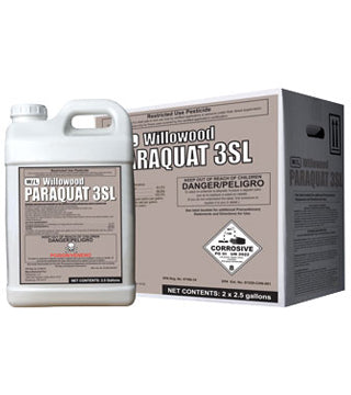 Willowood - Paraquat 3L - 2.5 gal - (haz)