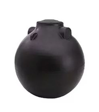 Nor - Septic Tank - 200 Gal Black 47X56 - Non-Plumbed