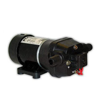 "Flojet - Pump - 12V, 3.7 gpm, 45 psi Switch - S/V, 1/2"" HB"