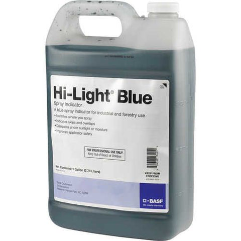 BASF - Hi-Lite Blue Spray Indicator Dye - 1 gal