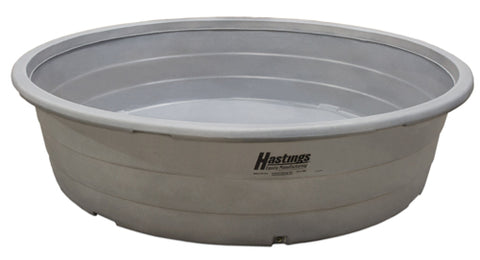 Hastings - Round Poly Tank HD - 10' x 2' - 1100 gal.
