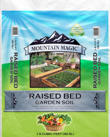 Mountain West - Mountain Magic Raised Garden Bed Soil - 1.5 cu. ft. (60/Pallet)