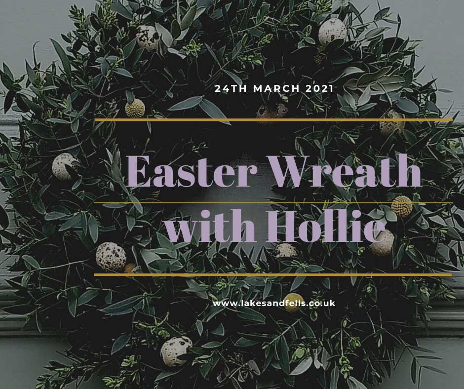 Easter Wreath Half Day with Hollie, March 24th 2021