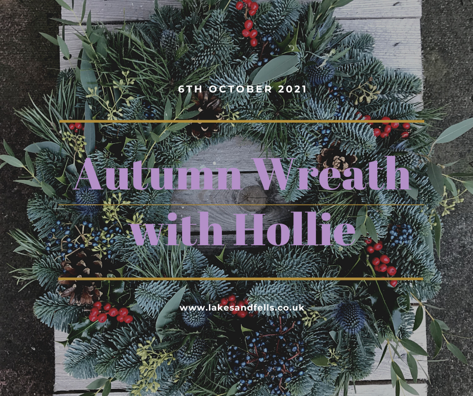 Autumn Wreath Half Day with Hollie, 6th October 2021